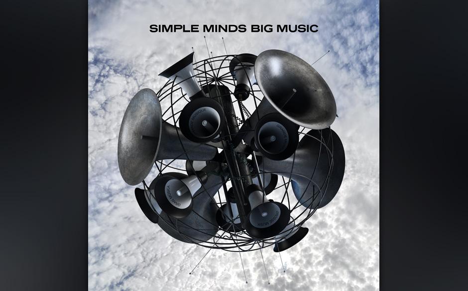 Simple Minds, 'Big Music': 2 Sterne. Stadionbreiter, nostalgischer Rock-Sound, über dem eine fingerbreite Staubschicht liegt