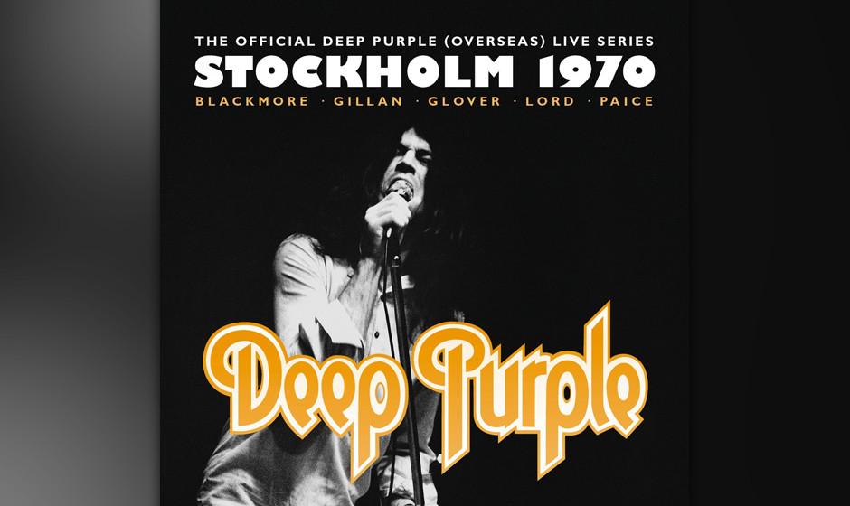 Deep Purple, 'Stockholm 1970': 2 Sterne. Musik breitarschig, Gesang eunuchig.