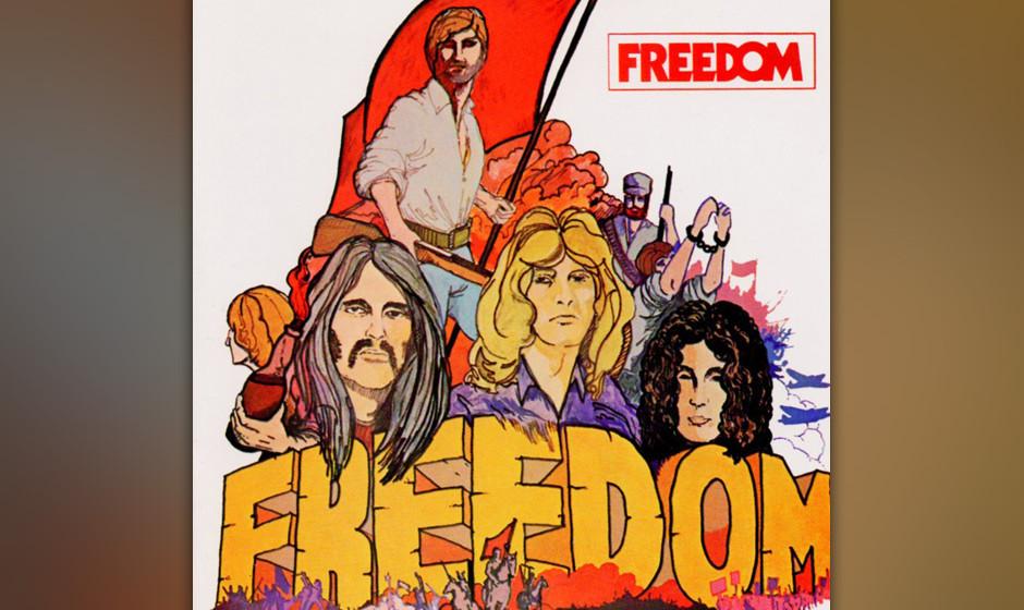 Freedom, 'Freedom (Vinyl-Reissue)': 2 Sterne. Die Stücke waren lang bis langatmig, Soli erfüllten brav ihren Selbstzweck. F