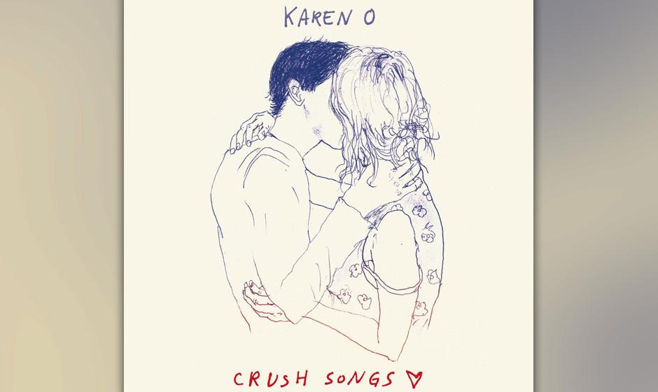 Karen O, 'Crush Songs': 2 Sterne. Karen O klagt, jammert und greint überwiegend auf diesem zähen Selbsttherapie-Album.