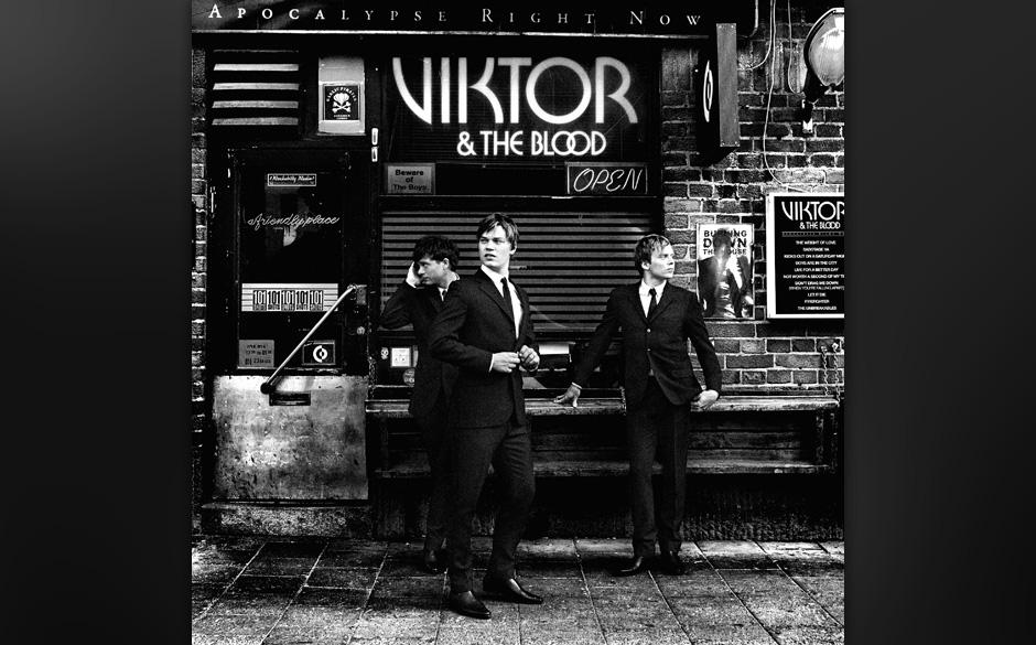 Viktor & The Blood, 'Apocalypse Right Now': 2 Sterne. Hüpfburg-Powerrock einer vermeintlichen 'Supergroup'.