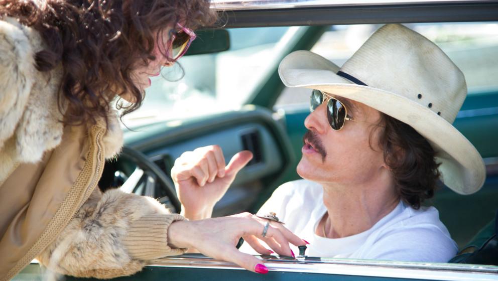 """5. Matthew McConaughey. Ein Oscar als bester Hauptdarsteller für """"Dallas Buyers Club"""", der Erfolg von """"True Detective�"""