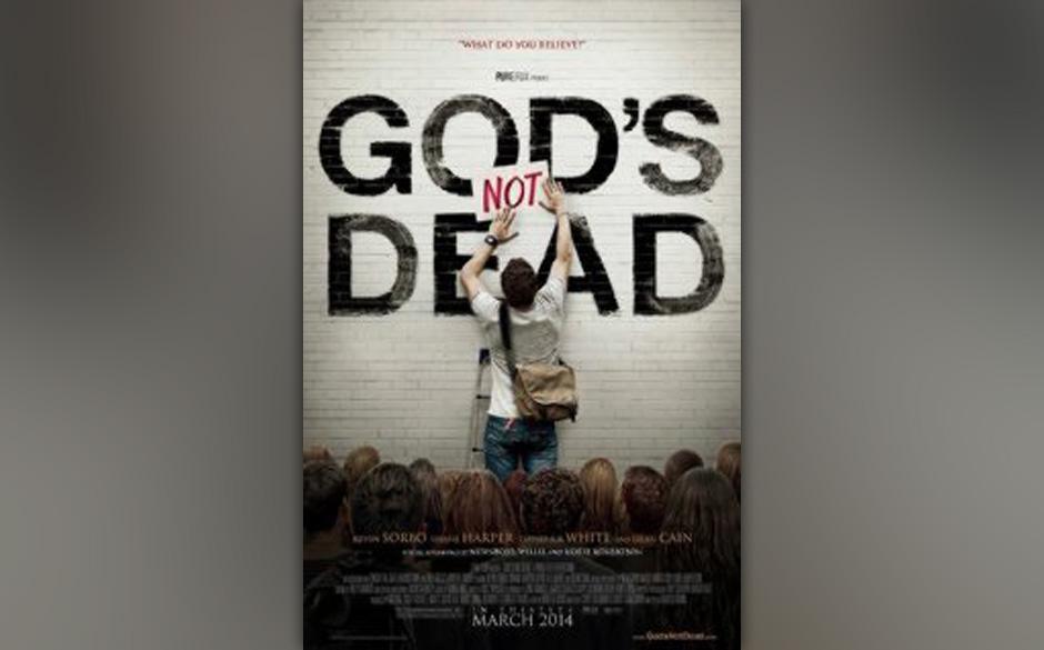 Platz 10: 'God's Not Dead' - Harold Cronk Es stellt sich die Frage, warum evangelische Christen nicht einfach mal gute Filme