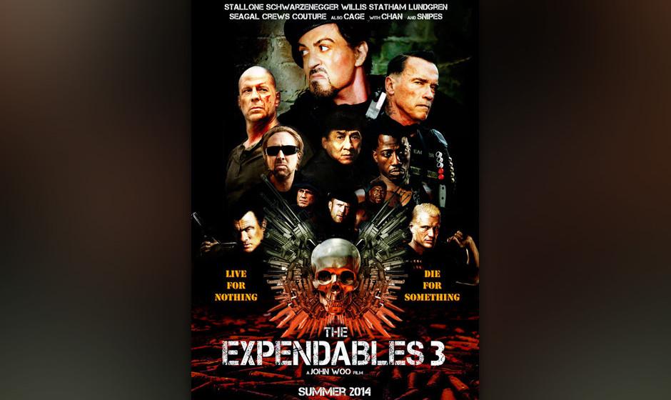 Platz 2: 'Expendables 3' - Patrick Hughes Dieser Film ist so, als würde Chuck Norris zunehmend an Verkalkung erstarren. Es t