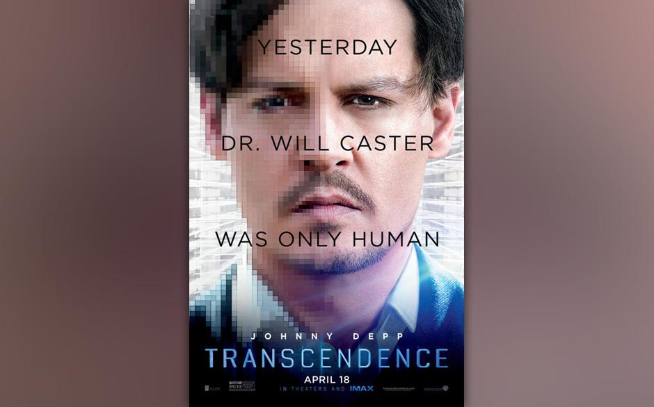 Platz 8: 'Transcendence' - Wally Pfister Scheinbar kann Johnny Depp gar nichts mehr. Weder lustig sein, noch ernst, noch gute