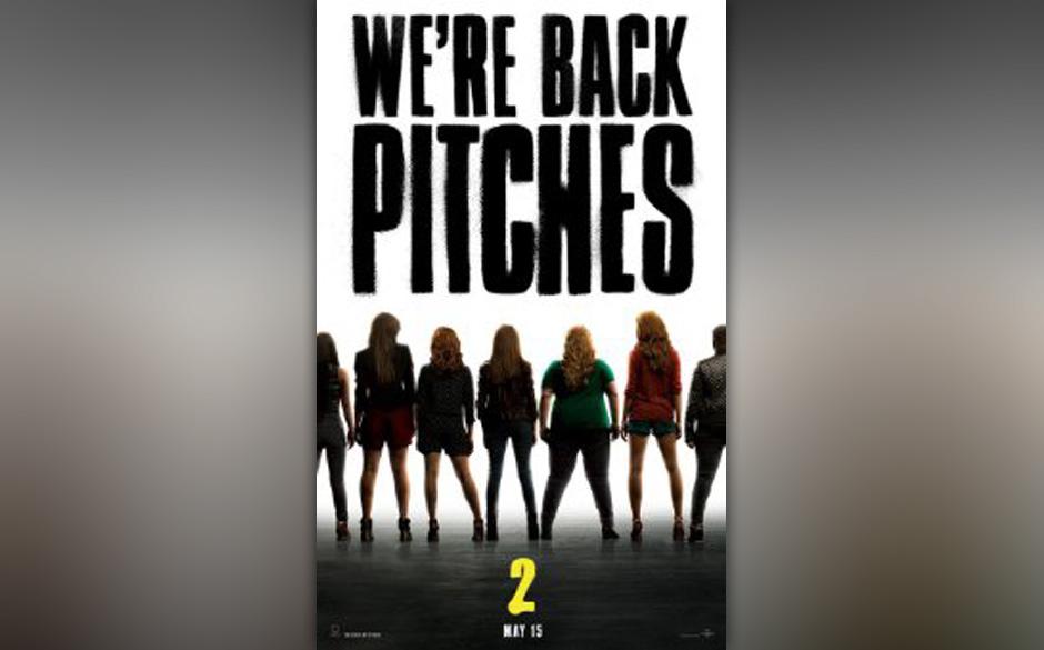 'Pitch Perfect 2' von Elizabeth Banks ist die Fortsetzung des Musical-Hits 'Pitch Perfect': Fat Amy (Rebel Wilson) und Beca (