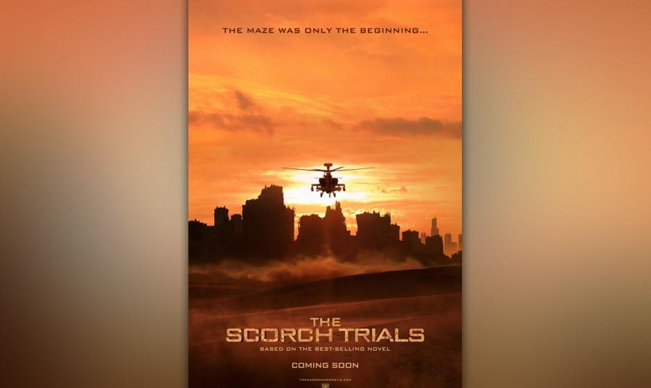 Im zweiten Teil 'Maze Runner 2: The Scorch Trials' sind Thomas und seine Mitstreiter dem Labyrinth entkommen und stellen mit