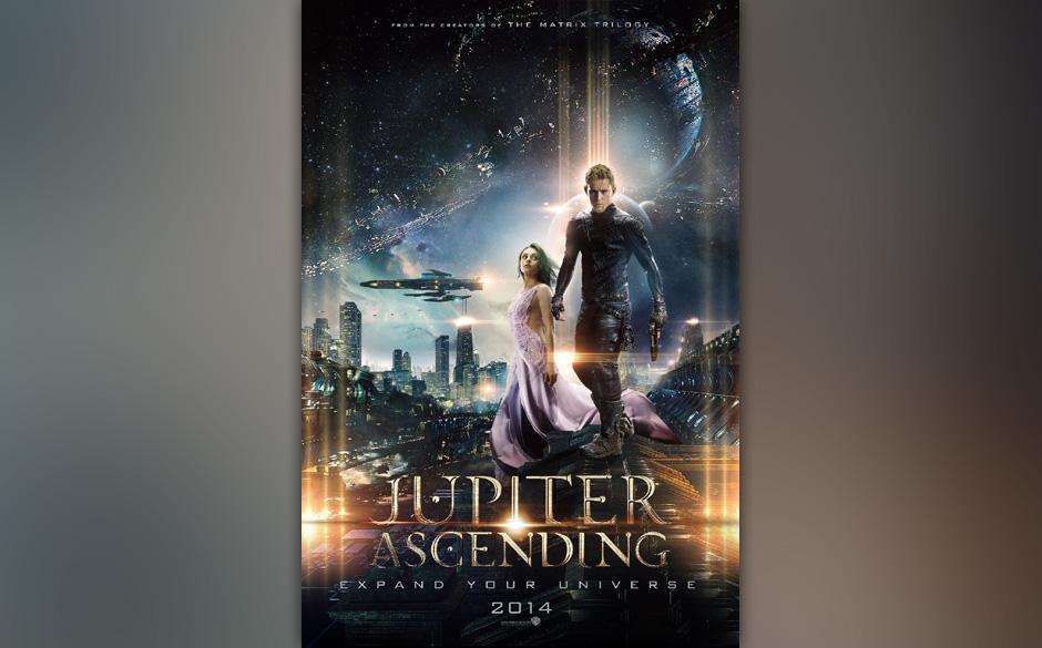 Andy und Lara Wachowski lassen in 'Jupiter Ascending' Mila Kunis auf Channing Tatum treffen. In dem Sci-Fi-Streifen wird eine