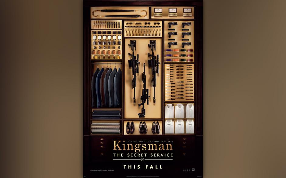 In 'Kingsmen: The Secret Service' gehr es um einen der geheimsten Nachrichtendienste. Agent Harry wird auf den Straßenjungen