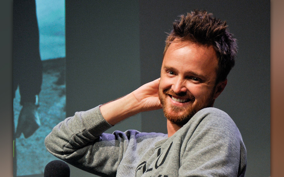 NEW YORK, NY - JULY 29:  Aaron Paul attends Apple Store Soho Presents: Meet The Filmmakers - 'Breaking Bad' at Apple Store So