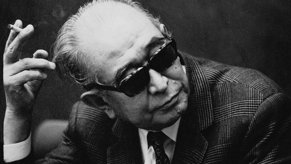 NEW YORK - JUNE 6:  Movie Director Akira Kurosawa during an interview on June 6, 1970 in New York, New York. (Photo by Santi