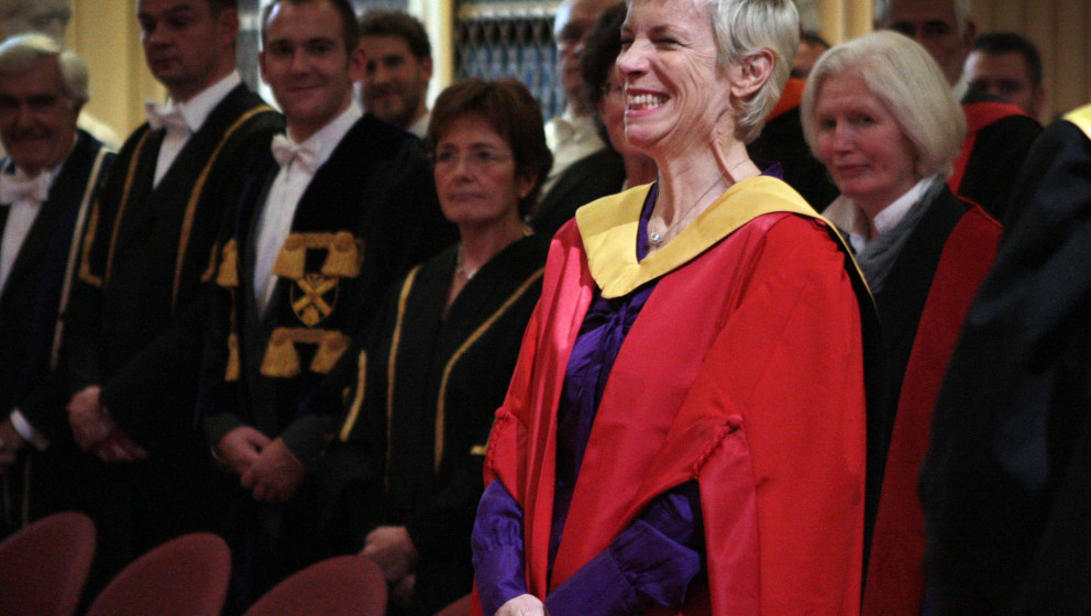 Annie Lennox at University of Edinburgh.Annie Lennox is in Edinburgh receives an honorary degree from the University of Edinb
