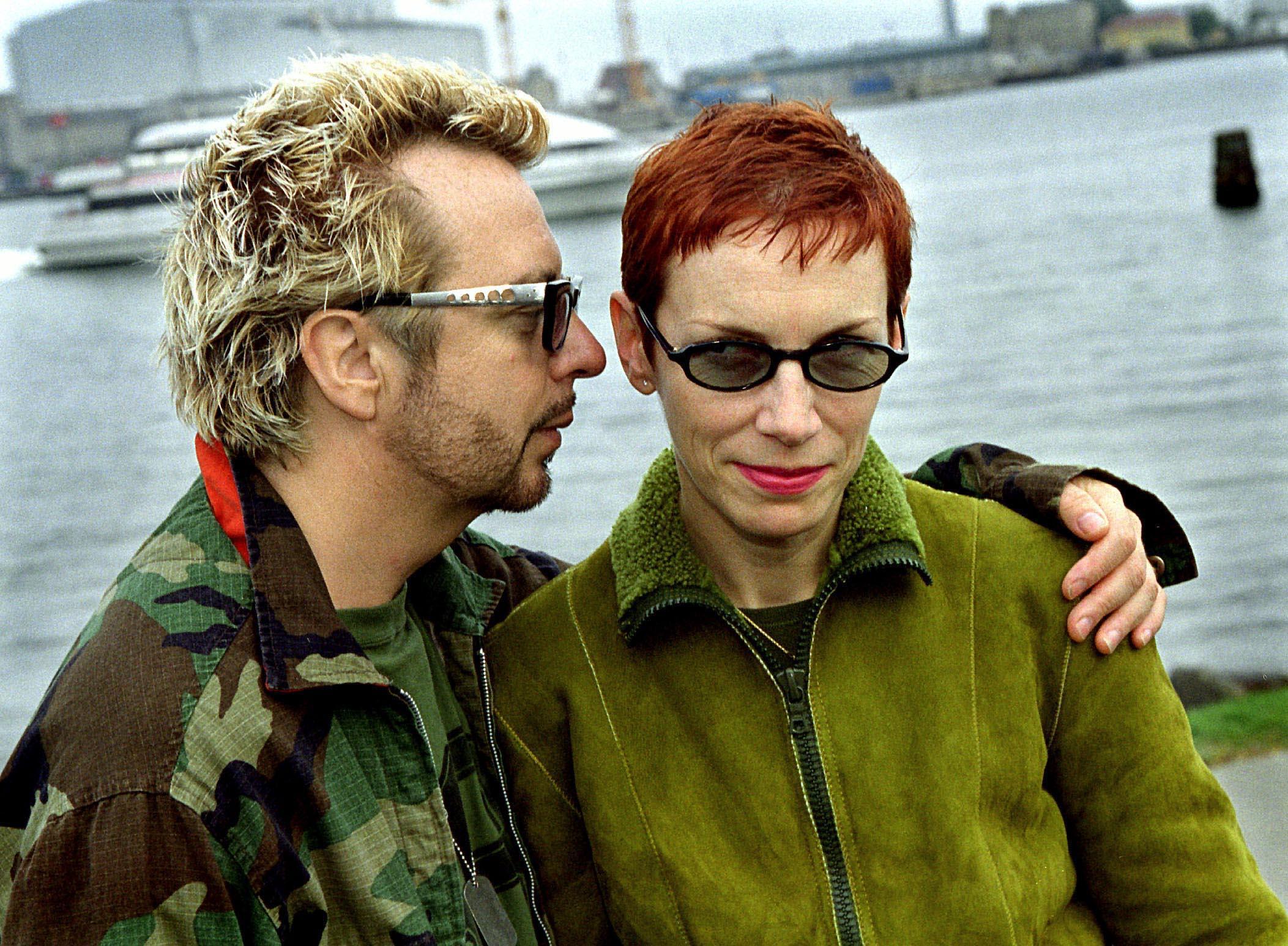 EURYTHMICS GIVE LIVE PERFORMANCE IN COPENHAGEN  British pop musicians ANNIE LENNOX and DAVE STEWART have re-established their