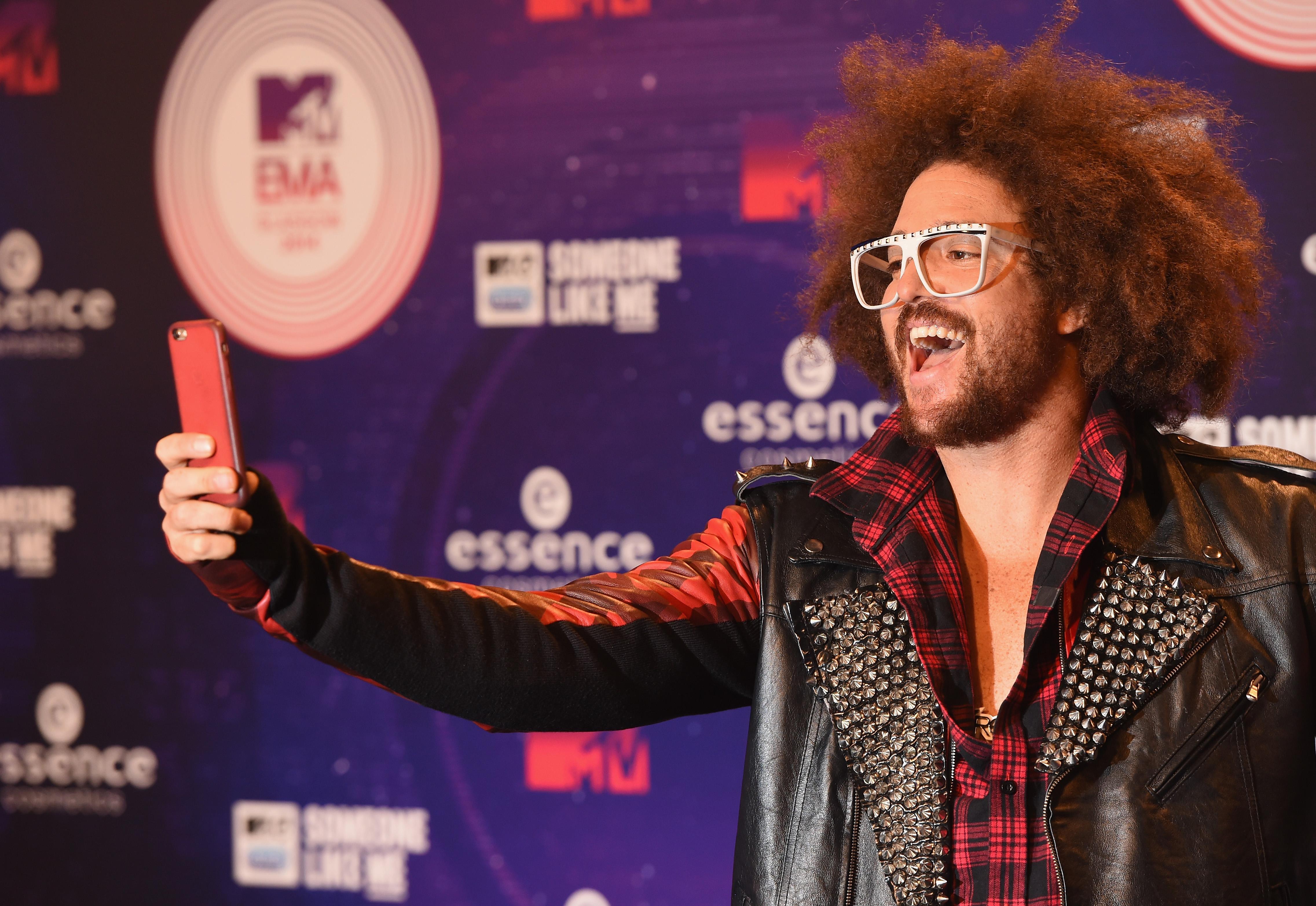 GLASGOW, SCOTLAND - NOVEMBER 09:  Redfoo attends the MTV EMA's 2014 at The Hydro on November 9, 2014 in Glasgow, Scotland.  (