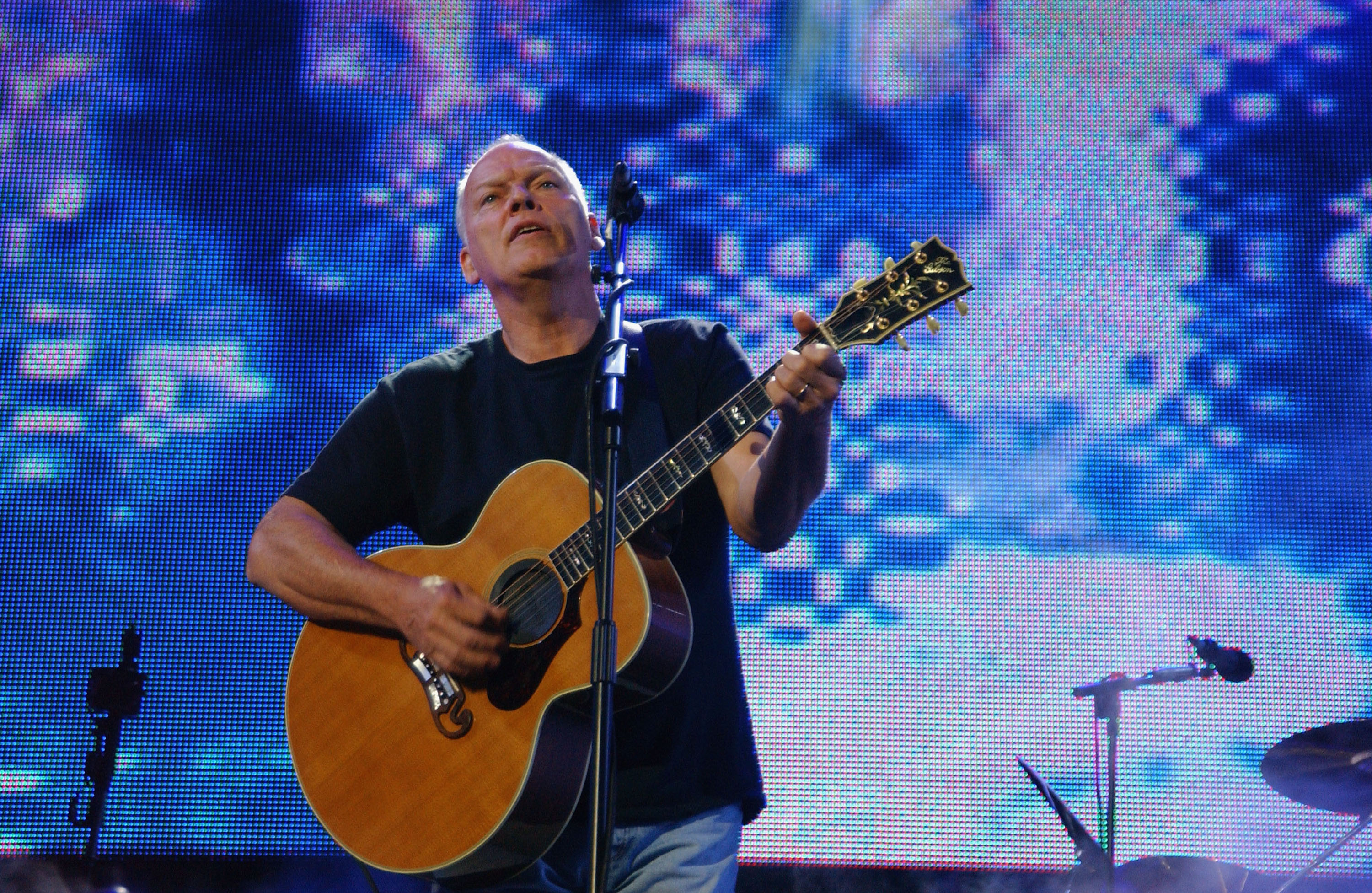 LONDON - JULY 2:  (EMBARGOED FOR PUBLICATION IN UK TABLOID NEWSPAPERS UNTIL 48 HOURS AFTER CREATE DATE AND TIME) Pink Floyd's
