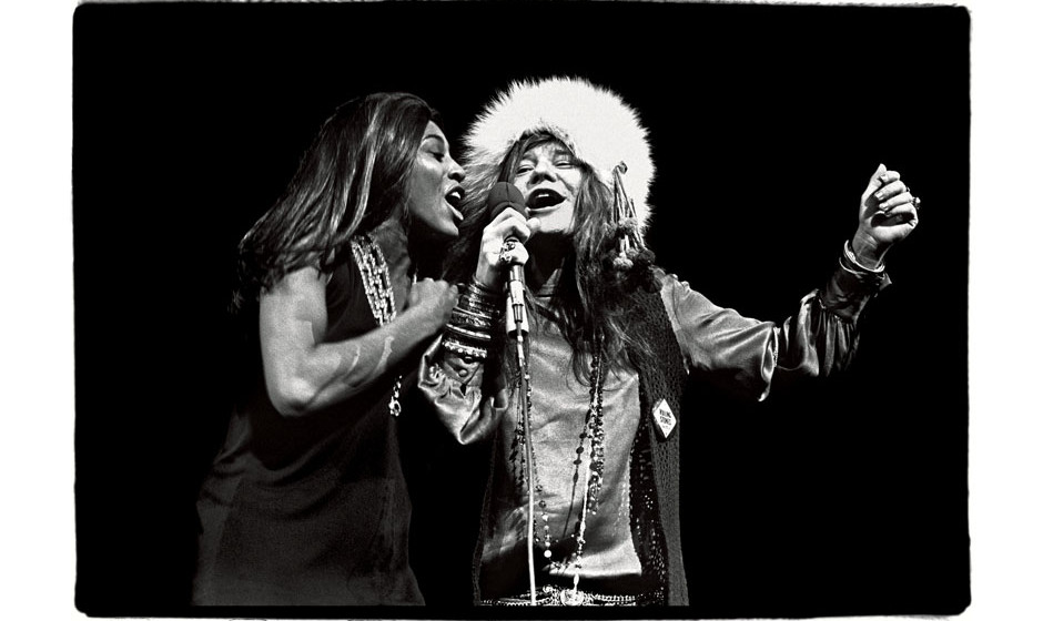 Janis and Tina at Madison Square Garden, November 27, 1969.