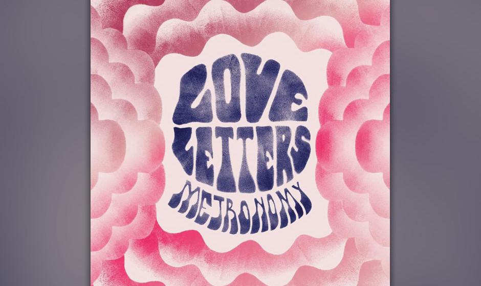 9. Metronomy - 'Love Letters' Der hoppelnde Orgelsong 'The Look' aus dem Jahr 2011, bislang über 13 Millionen mal geklickt,