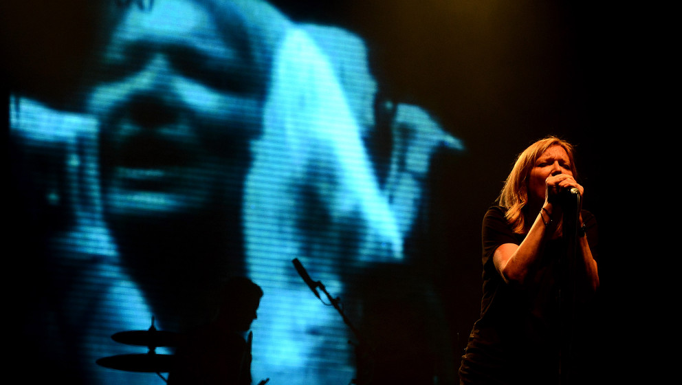Beth Gibbons of Portishead performs in Prague, Czech Republic, on Wednesday, June 19, 2013. (CTK Photo/Katerina Sulova)