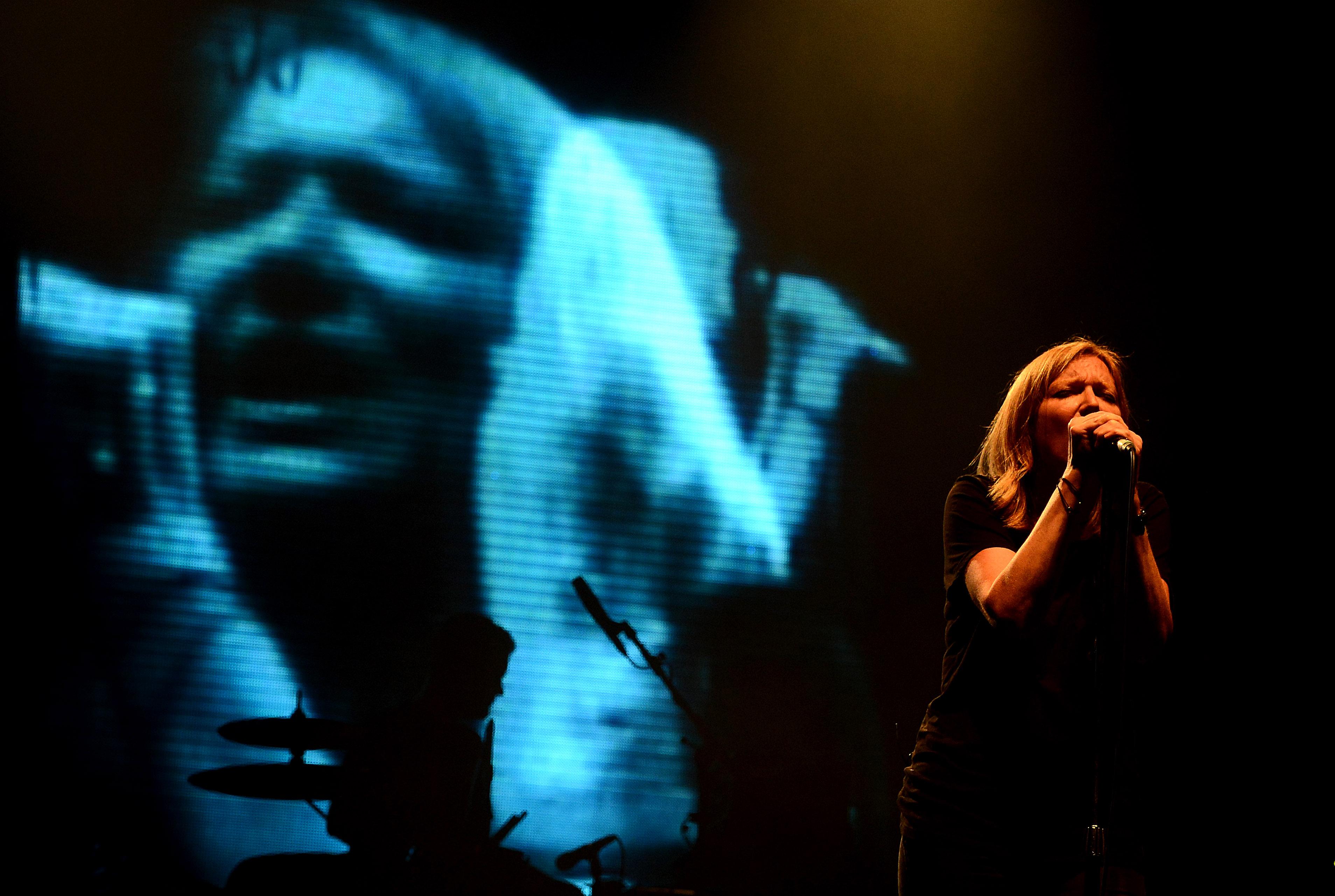Beth Gibbons of Portishead performs in Prague, Czech Republic, on Wednesday, June 19, 2013. (CTK Photo/Katerina Sulova)