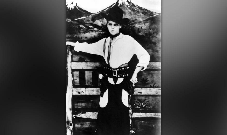 Young Elvis Presley.