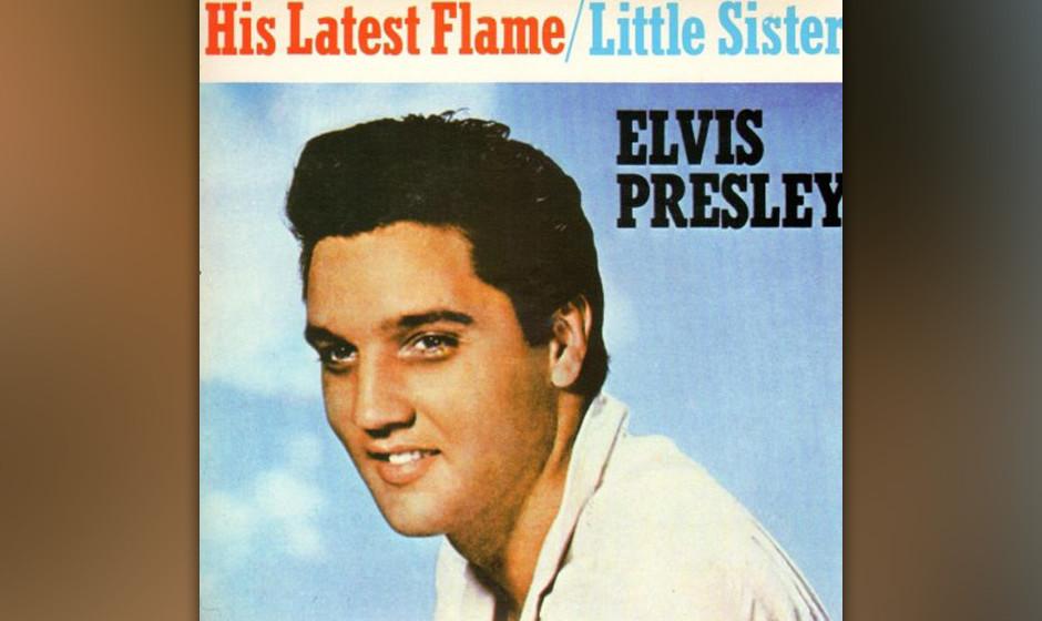 7. His Latest Flame, 1961.  Del Shannon hatte qua Publishing-Deal den ersten Zugriff auf diesen fabelhaften Song von Doc Pomu