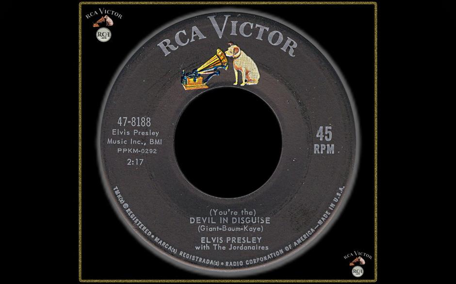"""8. Devil In Disguise, 1963.  Den Ausbruch von Beatlemania im fernen England hatte Elvis kaum mitgekriegt, dass """"Devil In Di"""