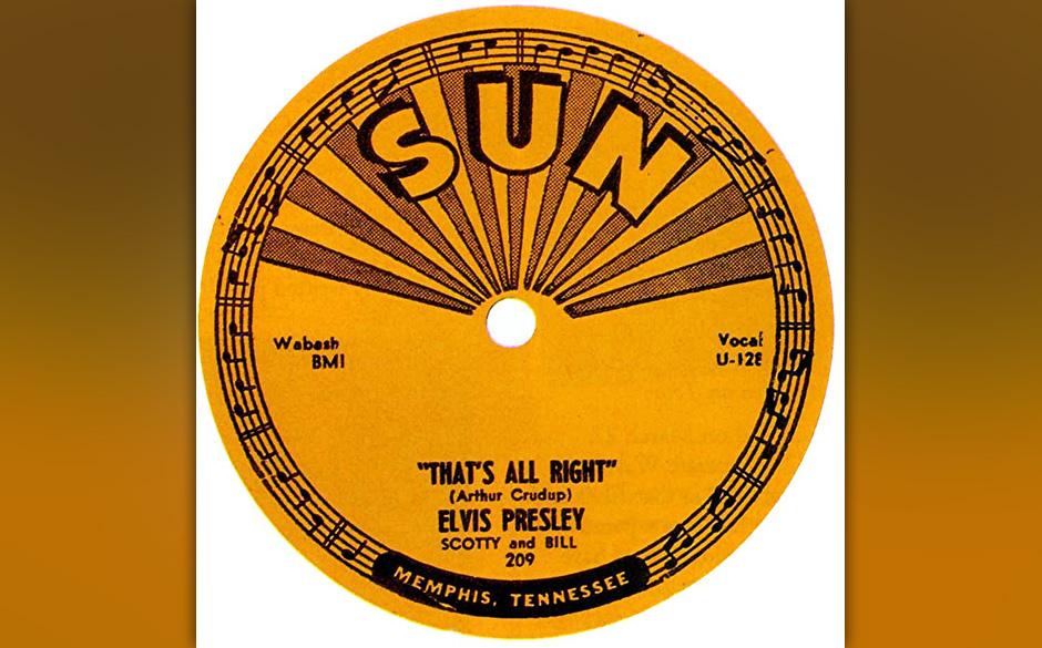 1. That's All Right, 1954.  Der Kickstart des Rockabilly, begünstigt durch eine Infektion, die in der Luft lag: Der Rhythm