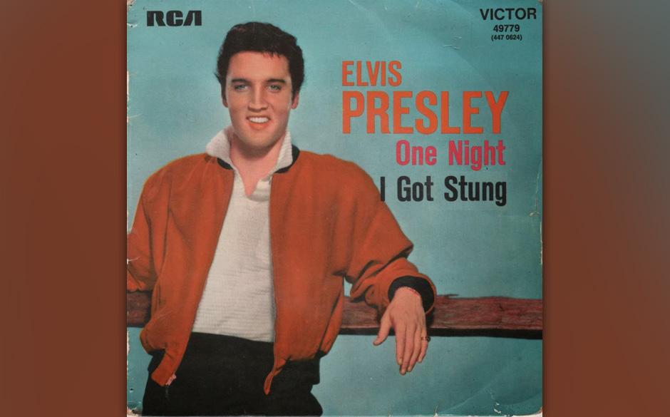 6. One Night, 1958.  Auch hier verzehrt sich Elvis nach der Angebeteten, auch hier geht die Libido mit ihm durch, doch hat �