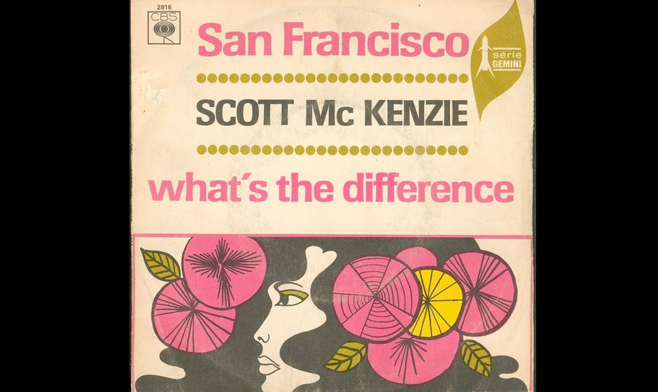 "Scott McKenzie – San Francisco (1967) ""San Francisco (Be Sure to Wear Flowers in Your Hair)"" wurde zur Hymne der Hippie"