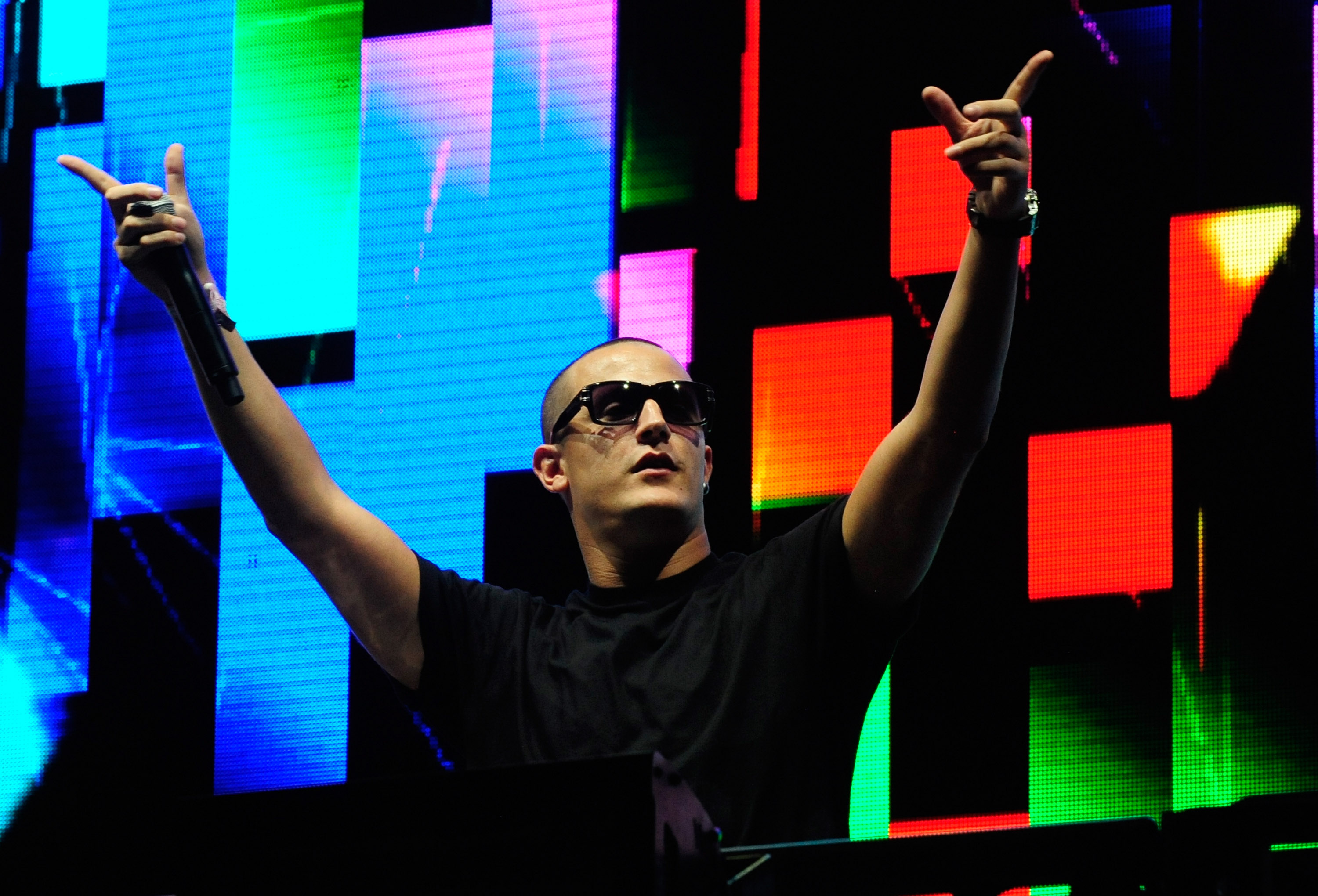 LAS VEGAS, NV - JUNE 23:  DJ Snake performs at the 18th annual Electric Daisy Carnival at Las Vegas Motor Speedway on June 23