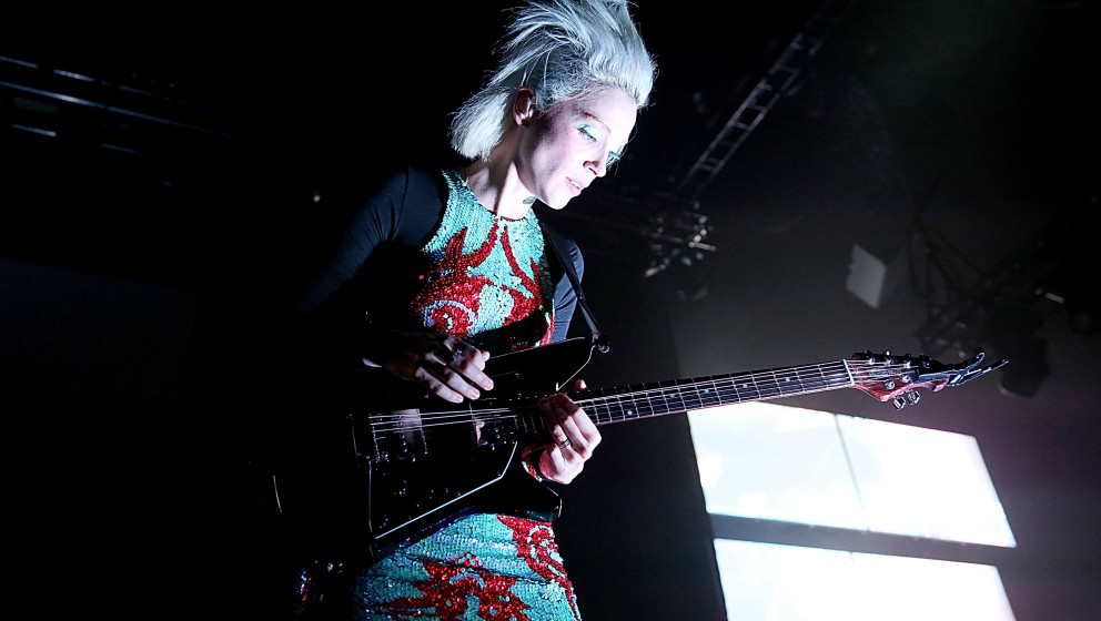 AUSTIN, TX - DECEMBER 19:  Annie Clark aka St. Vincent performs in concert at The Frank Erwin Center on December 19, 2014 in