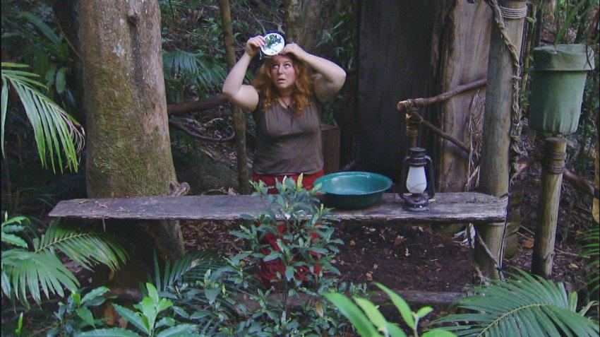 ACHTUNG: SPERRFRIST F‹R ALLE MEDIEN BIS SAMSTAG, 17. JANUAR 2015, 23.15 UHR !!!      Tag 2 im Camp - Rebecca Siemoneit-Baru