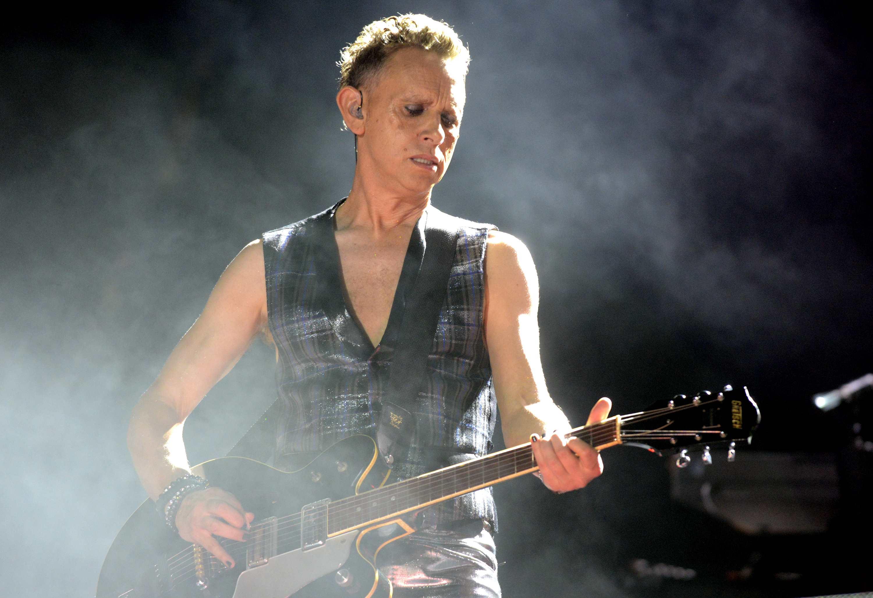 AUSTIN, TX - OCTOBER 11: Martin Gore of Depeche Mode performs as part of the Austin City Limits Music Festival Day One at Zil
