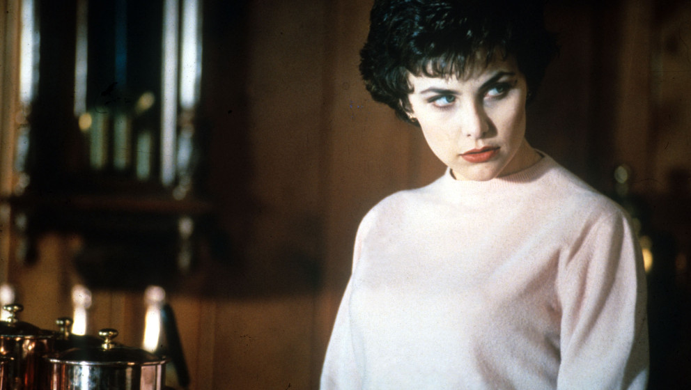 TWIN PEAKS [US TV 1990 - 1991]  SHERILYN FENN as Audrey Horne     Date:  (Mary Evans Picture Library) Keine Weitergabe an Dri