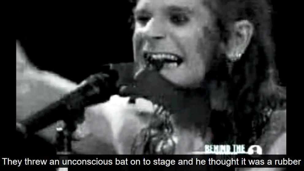 Der erste Kuss – Ozzy mit seiner Trophäe