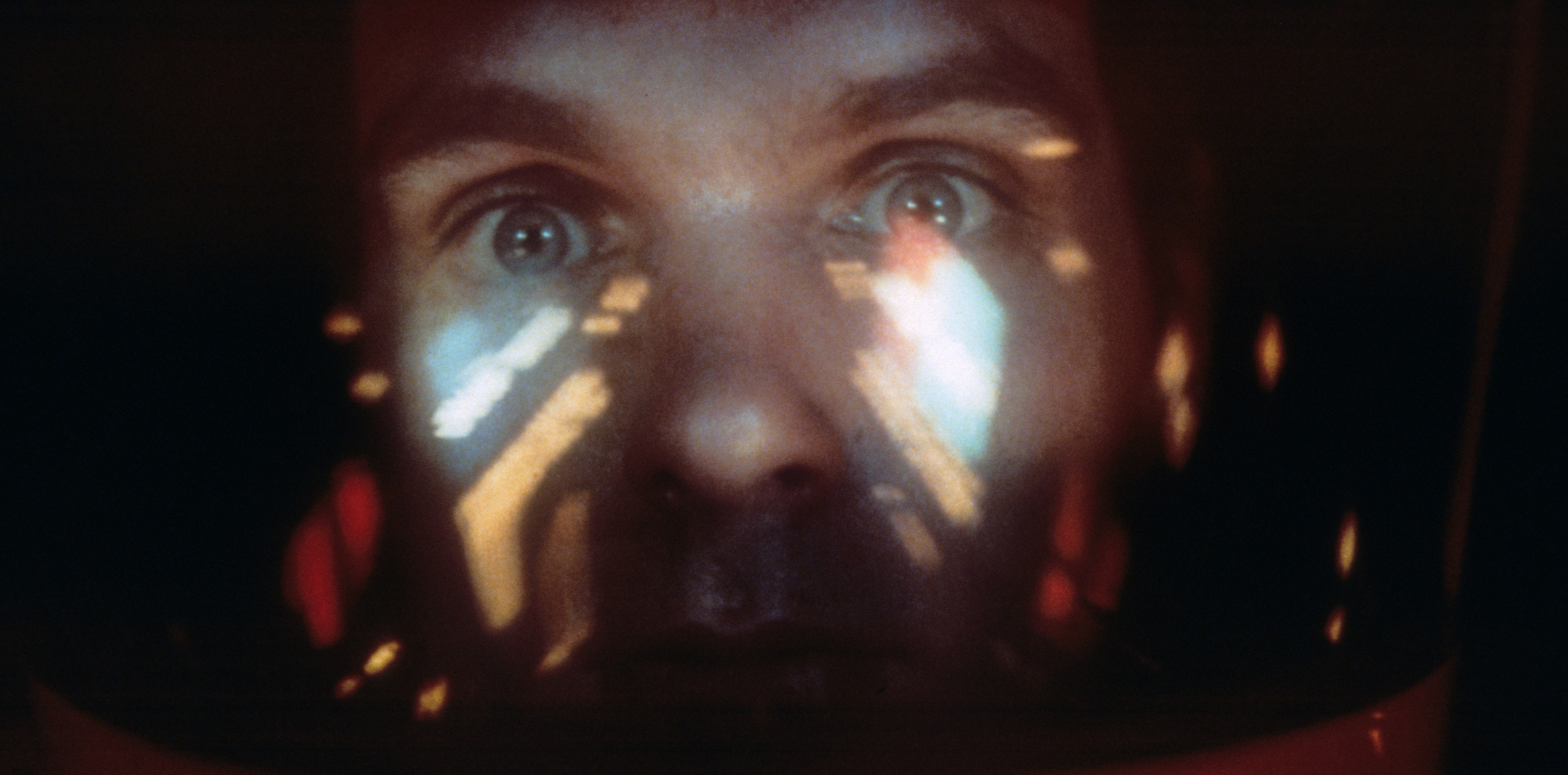 Keir Dullea in a scene from the film '2001: A Space Odyssey', 1968. (Photo by Metro-Goldwyn-Mayer/Getty Images)