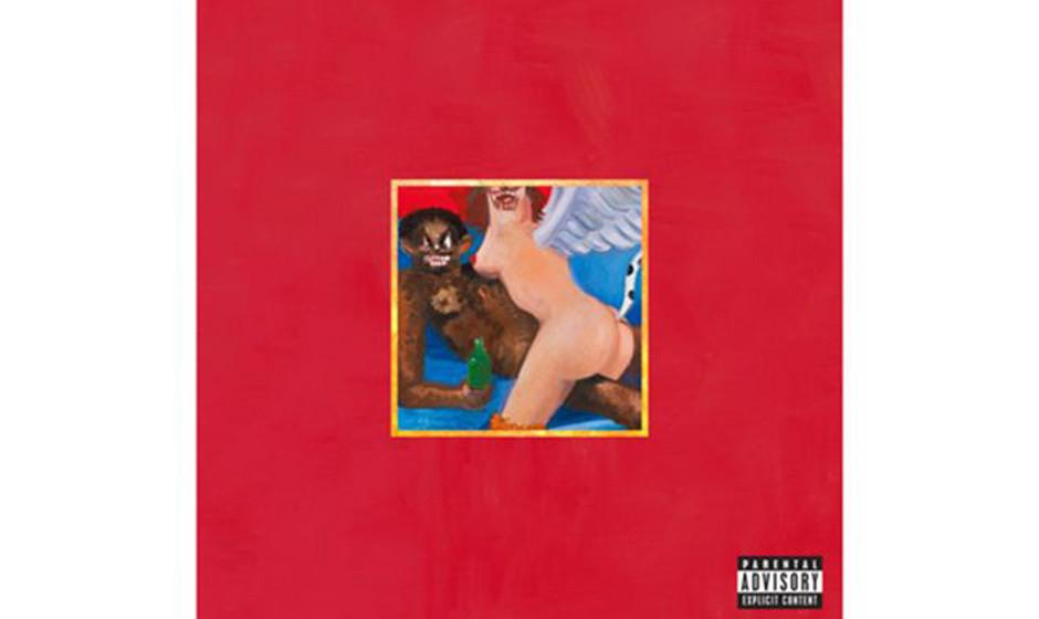 Kanye West, 'My Beautiful Dark Twisted Fantasy' (2010).  Wests Ansage an seinen Künstler George Romo: 'Mach' mir ein Cover,