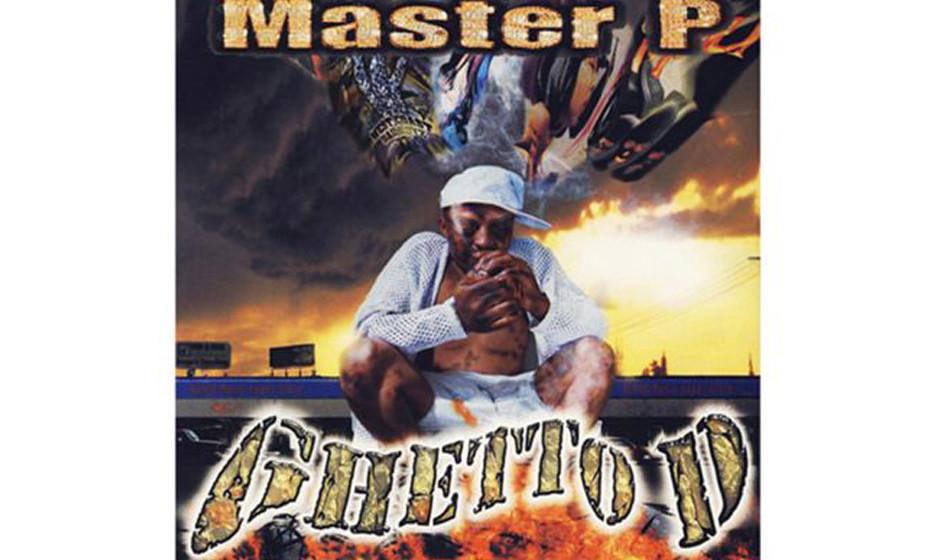 Master P, 'Ghetto D' (1997).  Der Originaltitel lautete 'Ghetto Dope',  ein Mann rauchte auf dem Cover Crack. Auf dem neuen B