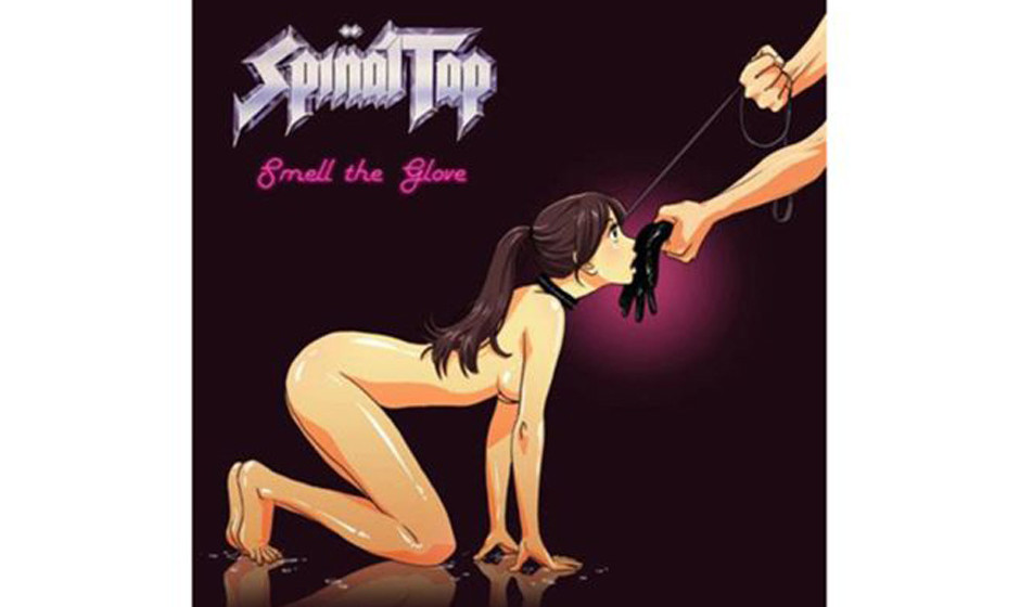 Spinal Tap, 'Smell the Glove' (1982).  Fiktional, aber sicher auch Zensur-gefährdet, dieses Cover der Mockumentary-Band Spin
