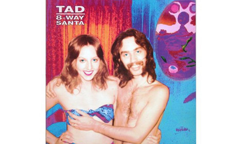 Tad, '8-Way Santa' (1991).  Sieht harmlos auch, nicht? Das abgebildete Pärchen –das Foto war ein Zufallsfund –fand d