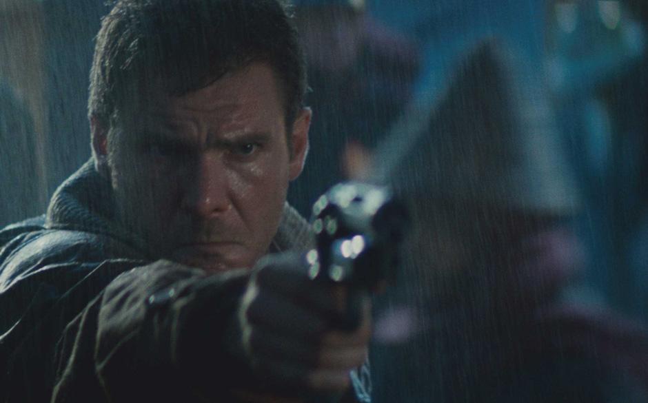 Blade Runner (1982).  Die philosophischen Gedanken tragen sich nicht über eine Dauer von zwei Stunden. Vor allem interessier
