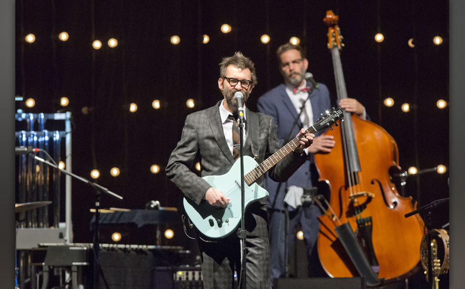 BERLIN, GERMANY - JUNE 24: Singer Mark Oliver Everett of the American band Eels performs live during a concert at the Tempodr