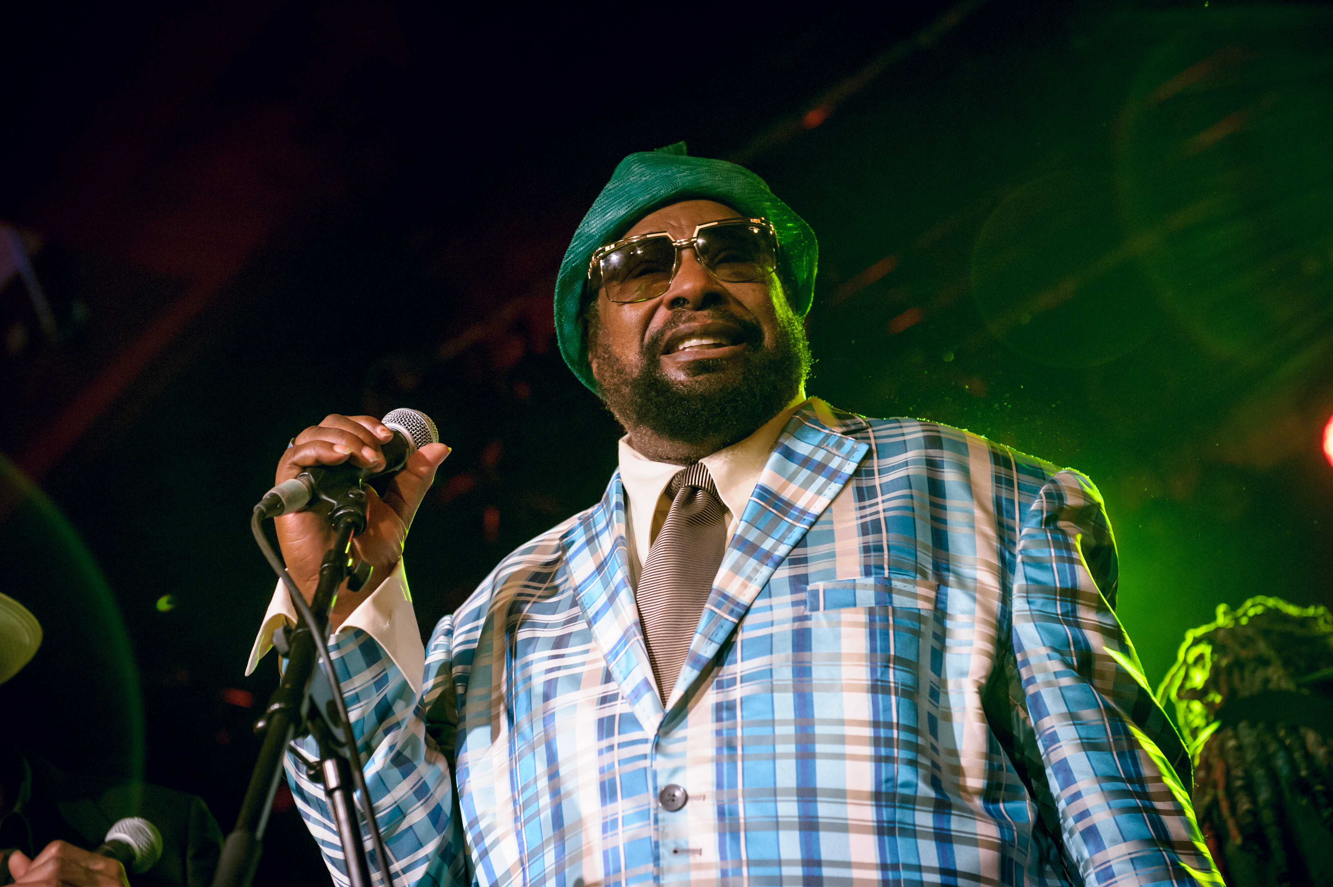 BERLIN, GERMANY - JULY 28:  George Clinton performs live on stage during a concert at Astra on July 28, 2014 in Berlin, Germa