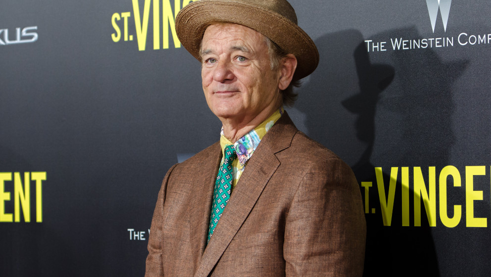 NEW YORK, NY - OCTOBER 06:  Actor Bill Murray attends the New York Premiere of 'St. Vincent' at the Ziegfeld Theater on Octob