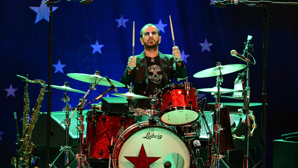 FORT LAUDERDALE, FL - OCTOBER 21: Ringo Starr and his All Star Band performs at Au Rene Theater at Broward Ceneter for Perfor