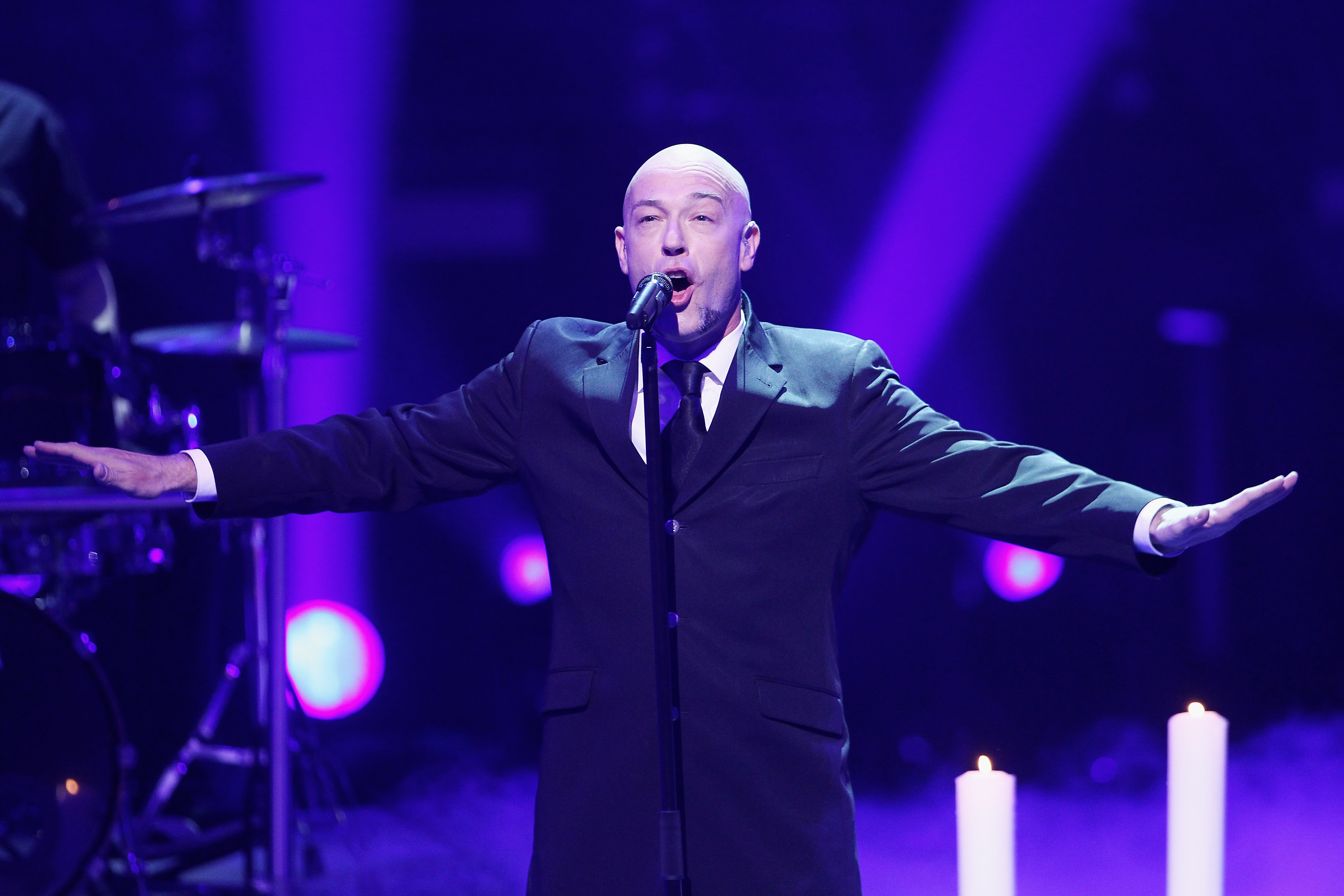COLOGNE, GERMANY - MARCH 13:  Unheilig  performs during the TV Show 'Eurovision Song Contest - Unser Song fuer Daenemark 2014