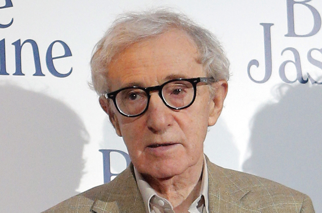 FILE - This Aug. 27, 2013 file photo shows director and actor Woody Allen at the French premiere of 'Blue Jasmine,' in Paris.