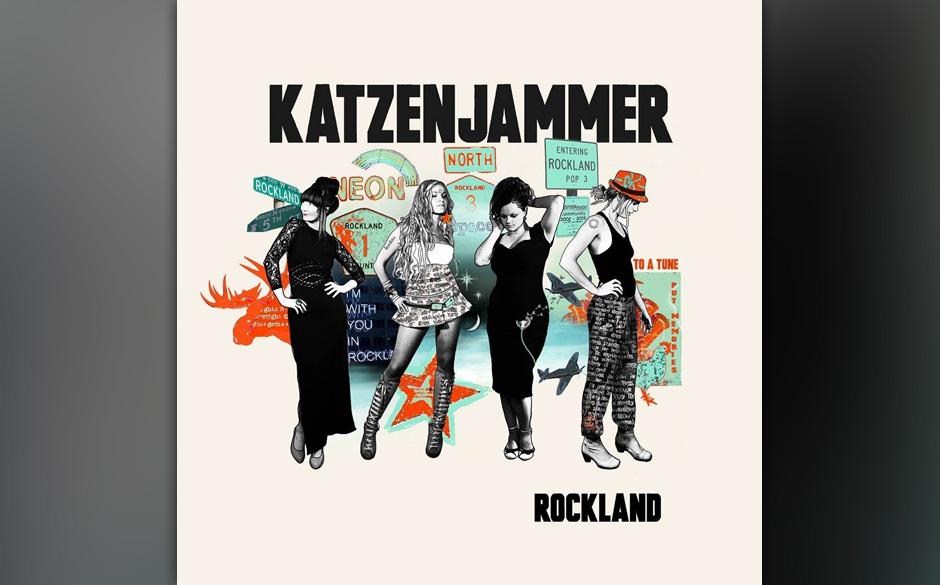 ...Katzenjammer belegen mit 'Rockland' die Fünf...