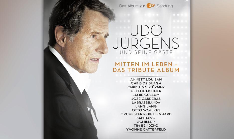 ...das Interesse an Udo Jürgens bleibt ungebrochen: 'Mitten im Leben - Das Tributealbum' schafft Bronze...