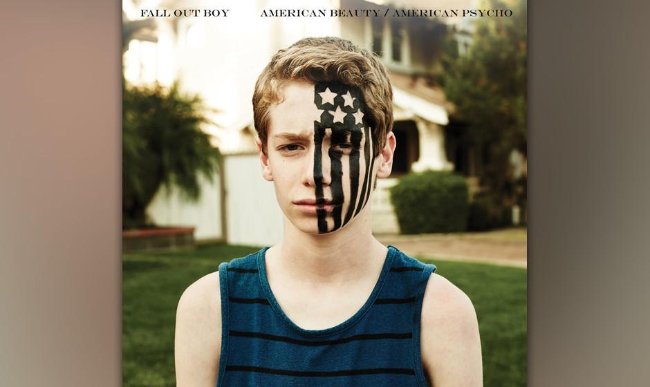 ...Fall Out Boy schaffen es mit ihrer neuen Scheibe 'American Beauty/American Psycho' nicht ganz in die Top 10 und müssen si